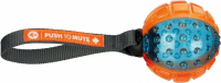 Trixie Pelota Push to Mute, TPR, ø7/22 cm  Ball on Rope  Multicolor