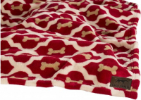 Fleece Blanket - Red Bone Rood