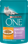 Purina ONE Sensitive Poulet et Carotte 85 g