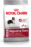 Royal Canin Size Health Nutrition Medium Digestive Care 15 kg, 3 kg