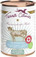 Terra Canis First Aid - Gastrointestinal Menu, Veal with Carrot, Fennel, Cottage Cheese and Camomile 400 g