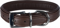 Trixie Collar Active Comfort, marrón Marrón 52–63x3.5 cm