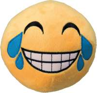 Trixie Smiley lachend, groot, pluche  14 cm Laughing