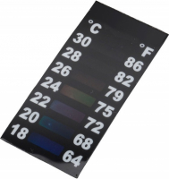 Slim & Short LCD-Thermometer 46x19 mm