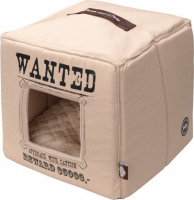 D&D Homecollection Wanted - Pet-Cube Beige