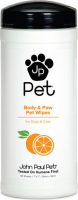 John Paul Pet Body & Paw Pet Wipes 45 pcs
