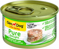GimDog Little Darling Pure Delight Kip met Lam 150 g 4002064513058