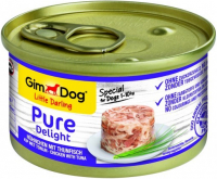 GimDog Little Darling Pure Delight Kip met Tonijn 85 g, 150 g
