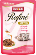 Rafiné with Sauce Kitten Poultry Cocktail & Shrimps Gevogelte & Garnalen
