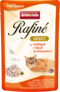 Rafiné with Sauce Adult with Poultry, Beef in Cheese Sauce - EAN: 4017721837996