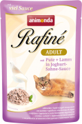 Rafiné with Sauce Adult with Turkey and Lamb in Jogurt & Cream Sauce Art.-Nr.: 76517