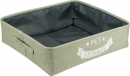 Trixie Caja para guardar Pet Storage Verde pantano