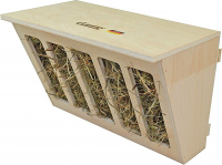 Hay Rack with Seat Board 30x17x20 cm