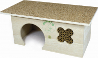 Rodent House Toscana with Cork Coating Beige