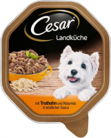 Cesar Country Kitchen Turkey and brown Rice in Sauce 150 g, 24x150 g