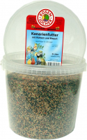 Rosenlöcher Canary Food with Turnip Rape & Biscuit 5L/2.7 kg 4012387010325 erfaringer