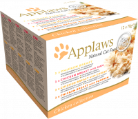 Applaws Natural Cat Food Chicken Selection Multipack 12x70 g