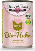 Herzens Hund Pure Meat Organic Chicken 400 g
