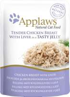 Applaws Natural Cat Food Kippenborst & Lever in Gelei 70 g 5060333430245