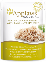 Applaws Natural Cat Food Kippenborst & Lam in Gelei 70 g 5060333430269