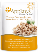 Applaws Natural Cat Food Kippenborst & Rund in Gelei 70 g