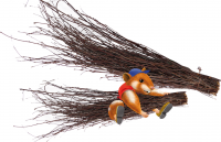 Hugro Rodent's Nibble Broom