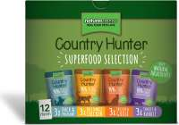 Natures Menu Country Hunter Multipack Superfood Selection 12x85 g osta edullisesti