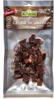 AltuDog Dried Wagyu Beef 100% natural Snack in Cubes 80 g