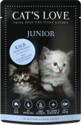 Cat's Love Junior Veal 85 g