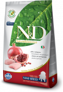 Farmina N&D Grain-Free Chicken & Pomegranate Puppy Maxi 2.5 kg