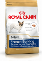 Royal Canin Breed Health Nutrition French Bulldog Adult 9 kg, 3 kg, 1.5 kg