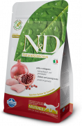 Farmina N&D Grain-Free Chicken & Pomegranate Neutered Adult 300 g
