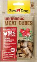 GimDog Superfood Meat Cubes with Chicken, Cranberries and Rosemary 40 g