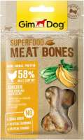 GimDog Superfood Meat Bones Pollo con Banano y Apio 70 g