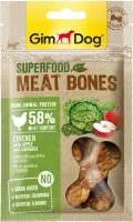 GimDog Superfood Meat Bones Pollo con Manzana y Col 70 g