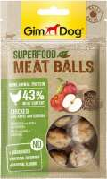 GimDog Superfood Meat Balls Chicken with Apple and Quinoa 70 g