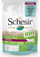 Schesir Kitten Bio Chicken 85 g
