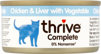 thrive Complete Chicken and Chicken Liver with Vegetables 5023538102782 kokemuksia