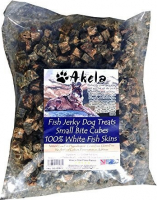 Akela Jerky Small Paws Cubes White Fish 1 kg