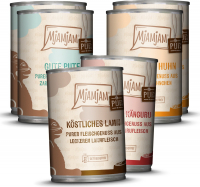 MjAMjAM Pure Meat Delight Mix Pack V 6x400 g