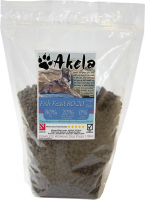Akela Fish Feast Small Paws with Trout, Salmon and White Fish 10 kg, 1.5 kg