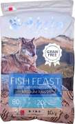 Akela Fish Feast Medium Paws with Trout, Salmon and White Fish 1.5 kg