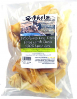 Akela WholePrey 100% Lamb Ears 100 g