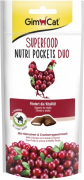 GimCat Superfood Nutri Pockets Duo with Chicken & Cranberry 60 g