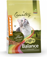 Fokker Country Balance Cat Game & Poultry 10 kg, 2.5 kg