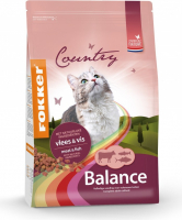 Fokker Country Balance Cat Meat & Fish 2.5 kg