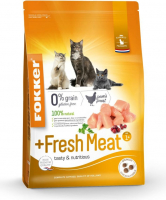 Fokker Cat +Fresh Meat 7 kg, 2.5 kg