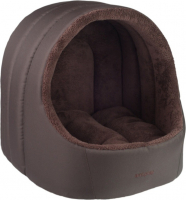 amiplay Oval dog house Aspen Dark brown L