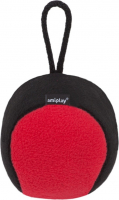 amiplay Plush Squeaky Ball Red S-M