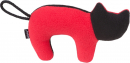amiplay Plush Squeaky Cat Rouge